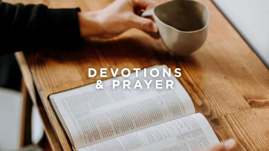 Devotions and prayer 1