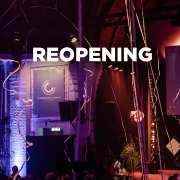 Reopening Celebration Church 1