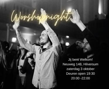 Interdenominational worship evening in our building in Hsum 3
