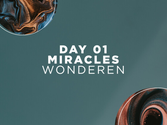 DAY 01 | Miracles 2