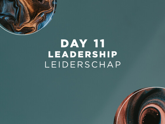 DAG 11 | Leiderschap 12
