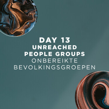 DAY 13 | Unreached People Groups 9