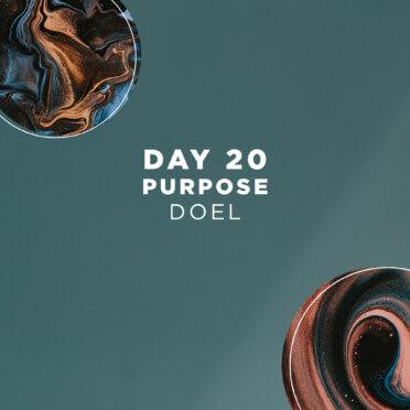 DAY 20 - Purpose 2