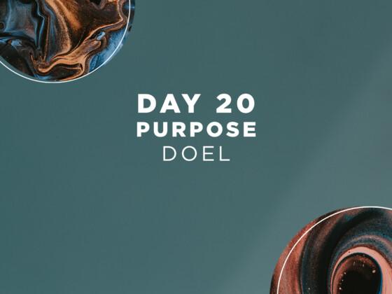 DAG 20 - Doel 21