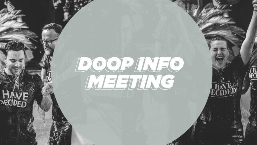 Doop info meeting 1