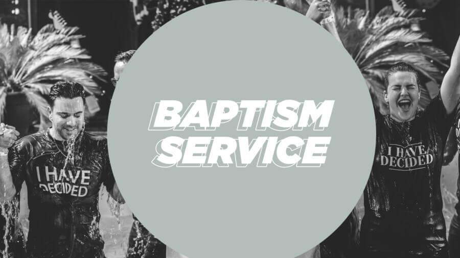 BAPTISM SERVICE 1